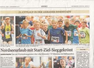 City-Lauf 2013